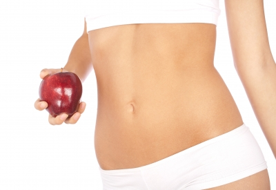 Apple will help you to reduce tummy fat